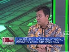Ekonom: Pengembangan Bisnis BUMN Jadi PR Erick Thohir