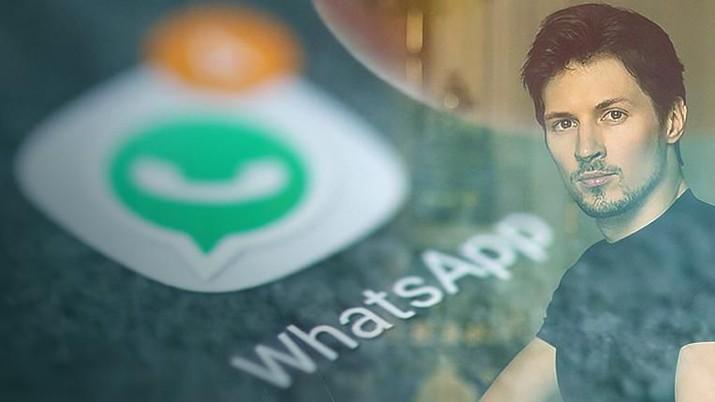 cover topik/WhatsApp Dibajak & Kritik Pedas Bos Telegram/Aristya Rahadian Krisabella
