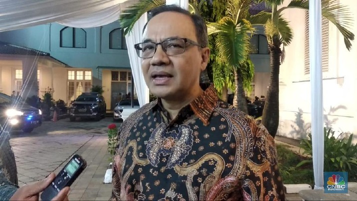 Teuku Faizasyah Plt Juru Bicara Kementerian Luar Negeri RI (CNBC Indonesia/Rehia Sebayang)