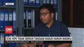 VIDEO: ICW: KPK Tidak Serius Tangani Kasus Harun Masiku