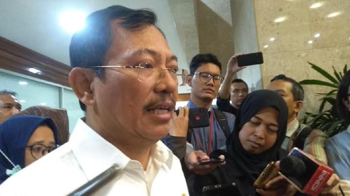 Simak penjelasan Terawan saat melakukan rapat kerja dengan Komisi IX DPR RI, Kompleks Parlemen Senayan, Jakarta, Senin (3/2/2020).