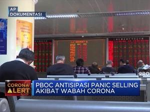 Pasar Terancam Sell-Off, PBOC Suntik Dana 1,2 Triliun Yuan