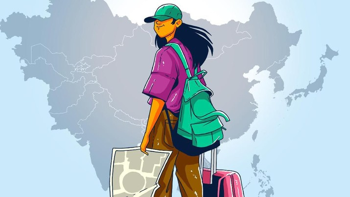 Infografis/ Turis Asing di 2019 Capai 16 Juta, Malaysia & China Terbanyak/Aristya Rahadian krisabella