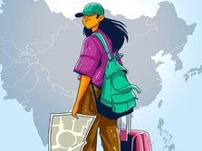RI Masih 'Lockdown' Turis Masuk, Kunjungan Anjlok 88%