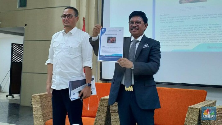 Menkominfo sebut sampai saat ini sudah ada 54 kabar hoax beredar di Indonesia terkait virus corona