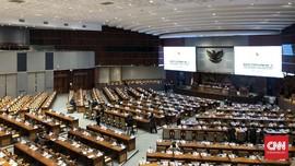 Paripurna DPR saat Corona, 31 Hadir dan 278 Anggota Daring