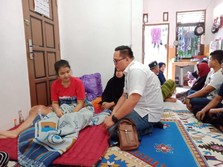 Terganjal Biaya, Akhirnya Riska Ramadila Berobat ke Jakarta