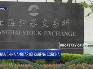 Dalam Sehari, USD 370 Miliar AS 'Menguap' dari Bursa China