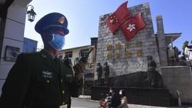 Satu Polisi Hong Kong Positif Corona, 59 Lain Dikarantina