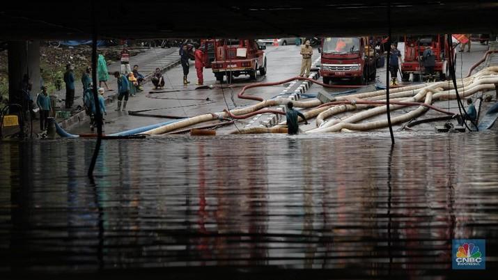 Banjir Lagi! Begini Penampakan Terkini Underpass Kemayoran