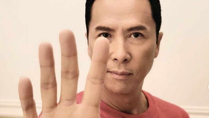 Usai Jacky Chan, Giliran Donnie Yen 'IP Man' Terdampak Corona