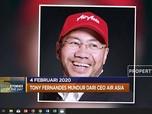 427 Korban Akibat Virus Corona hingga Tony Fernandes Mundur
