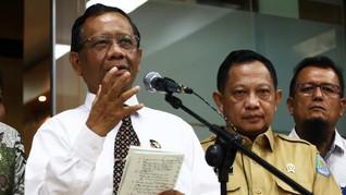 Tak Periksa Data Papua, Mahfud Klaim Punya yang Lebih Lengkap