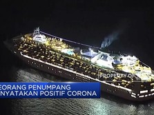 Penumpang Positif Corona, Kapal Pesiar Jepang di Karantina