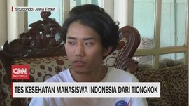 VIDEO: Tes Kesehatan Mahasiswa Indonesia dari Tiongkok