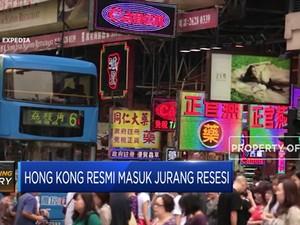 Hong Kong Resmi Masuk Jurang Resesi