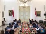 Presiden Singapura Temui Jokowi, Bahas Tax Treaty?