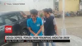 VIDEO: Depresi, Pemuda Tikam Penumpang Angkutan Umum