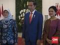 Jokowi Terima Kunjungan Kenegaraan Presiden Singapura