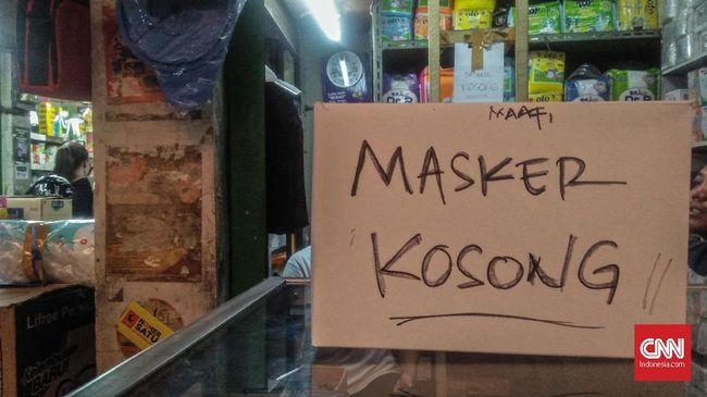 Pemprov DKI Bakal Operasi Pasar Masker Terkait Virus Corona