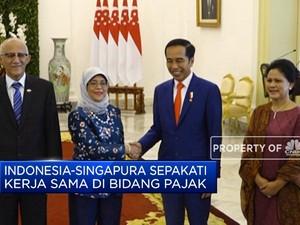 Indonesia-Singapura Jajaki Kerja Sama di Bidang Pajak