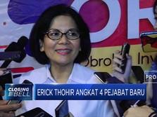 Ini 4 Pejabat Baru yang Dilantik Erick Thohir