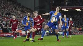 Ejekan 'Livarpool' Kembali Membahana Usai The Reds Menang