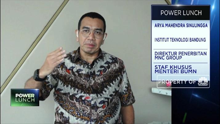 Arya Sinulingga: Sub-Holding Farmasi, Upaya Dorong Keamanan Kesehatan RI (CNBC Indonesia TV)