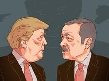 Ada Trump di Belakang Erdogan Saat Turki-Suriah Saling Serang