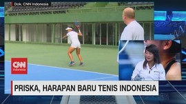 VIDEO: Priska, Harapan Baru Tenis Indonesia