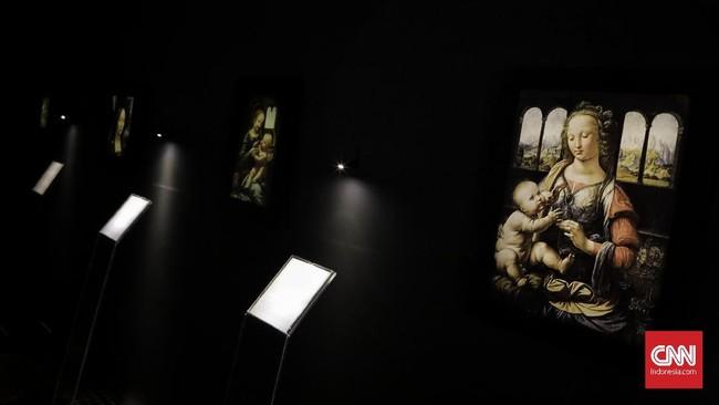 Leonardo Da Vinci merupakan salah satu seniman Renaissance yang paling berpengaruh dan dihormati dalam sejarah. (CNN Indonesia/Adhi Wicaksono)