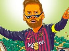 Messi Jadi Atlet Terkaya di Dunia! Berapa Sih Bayarannya?