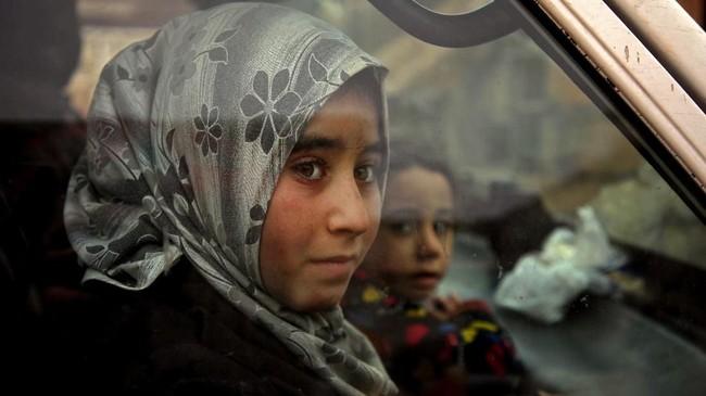 Perang saudara di Suriah sudah berlangsung selama sembilan tahun. (AAREF WATAD/AFP)