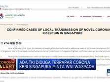 KBRI Singapura minta WNI Waspada! Ada TKI Diduga Kena Corona