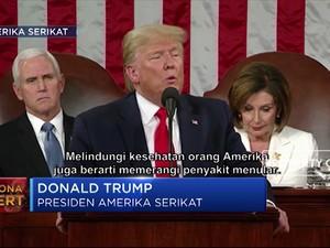 Trump: AS Lakukan Segala Cara Lindungi Warga dari Corona