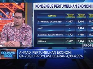 Ekonom Samuel Sekuritas Proyeksi PDB Q4-2019 di 4,99%