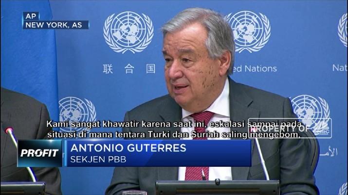 PBB: Dunia Bak Angin Ribut Karena Corona dan Konflik Timteng (CNBC Indonesia TV)
