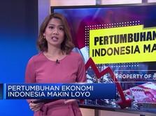 Pertumbuhan Ekonomi Indonesia Makin Loyo
