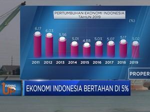 Ekonomi Indonesia Bertahan di 5%