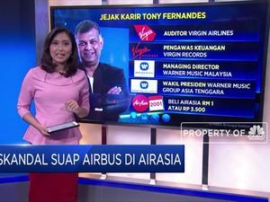 Skandal Suap Airbus Seret CEO AirAsia Tony Fernandes