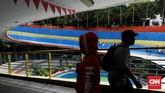 Terowongan Penyeberangan Orang (TPO) yang dibangun pada 2006 dan selesai 2009 menghubungkan Stasiun Jakarta Kota dengan jalan di depan Museum Bank Mandiri. (CNN Indonesia/Safir Makki)
