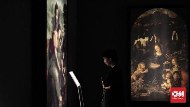 Leonardo Da Vincidianggap berkontribusi terhadap berbagai aspek kehidupan, mulai dari sains, musik, matematika dan sastra hingga menggambar, melukis, patung, dan arsitektur. (CNN Indonesia/Adhi Wicaksono)