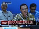 BPS: Pertumbuhan Ekonomi RI di Q4-2019 Capai 4,97%