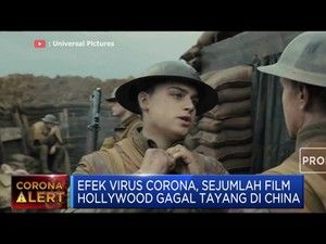 Karena Corona, Sejumlah Film Hollywood Gagal Tayang di China