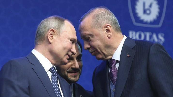 Suriah 'Perang' Dengan Turki, Erdogan Kian Panas Dengan Putin