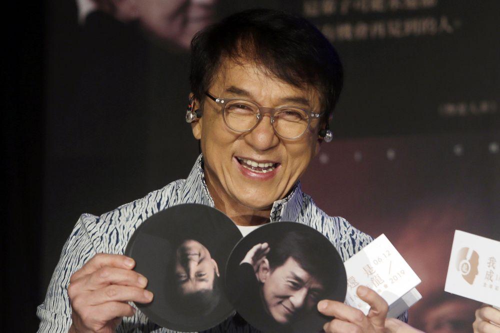 Jackie Chan. (AP Photo/Chiang Ying-ying, File)