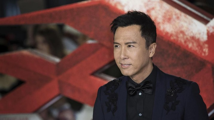 Actor Donnie Yen poses for photographers upon arrival at the premiere of the film 'xXx: Return of Xander Cage', in London, Tuesday, Jan. 10, 2017. (Photo by Vianney Le Caer/Invision/AP)
