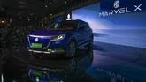 Produsen otomotif ChinaMG Motors memperkenalkan Marvel X di Auto Expo 2020. (Photo by Money SHARMA / AFP)
