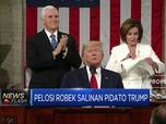 Alasan di Balik Pelosi Sobek-Sobek Pidato Trump