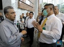 Usai ke Kemenkeu, Korban Jiwasraya Datangi Kantor OJK